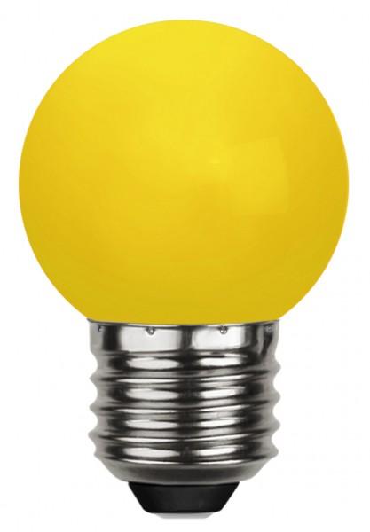 Decoration LED, E 27, gelb, Polycarbonat