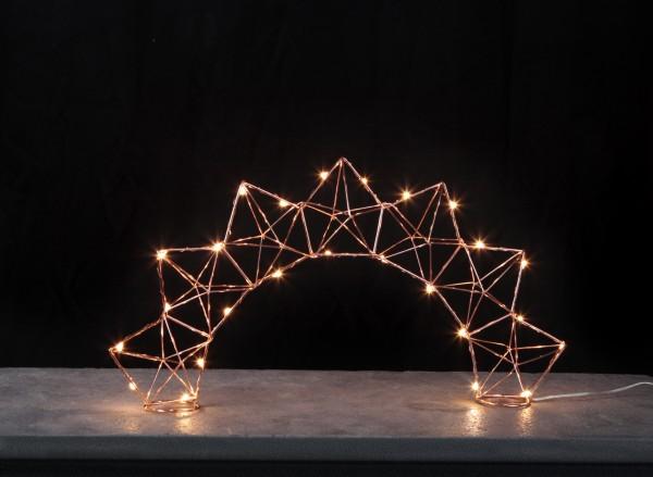 """LED-Dekoleuchte """"Edge"""", ca.27 x 52 cm"""