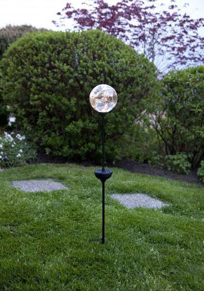 """LED-Solarstab """"Glory""""mit Kugel, 30 warmwhite LED"""