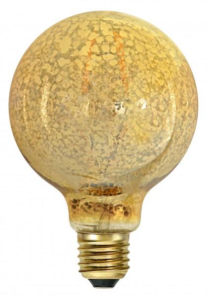 "Filament ""Goldflake Globe"" E27, 1900 K, 80 Ra, A,"