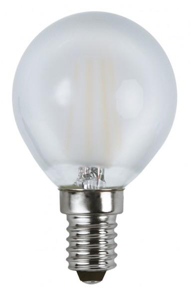 Filament LED, E14, 2700 K, 80 Ra, A+, gefrostet