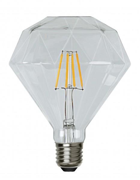 Filament LED, E27, 2700 K, 80 Ra, A++, dimmbar