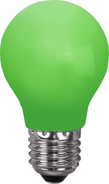 Decoration LED, E 27, grün, Polycarbonat