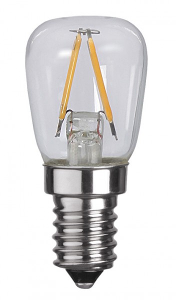Filament LED, E14, 2700 K, 80 Ra, A++, 2er Pack