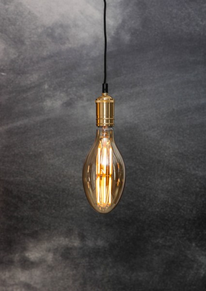 "Decoration LED ""Industrial"", E27, 2000K, A, dimmb"