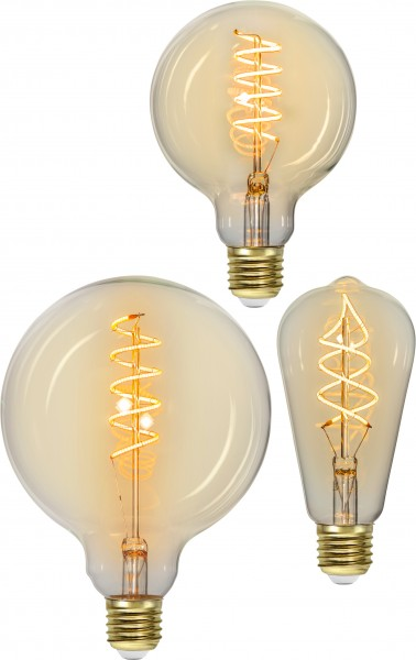 "Decoration LED ""Spiral Filament"", E27, 2200K, A+,di"