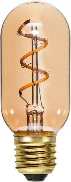"""DecoLED """"Spiral Filament"""", E27, 2000K, A,Amberglas"""
