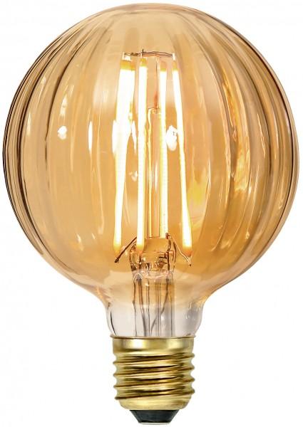 """Decoration LED """"Amber Glass"""", E27, 2000K, A+,dimb"""