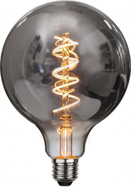 "DecoLED ""Spiral Filament"", E27, 2100K, B,Rauchglas"