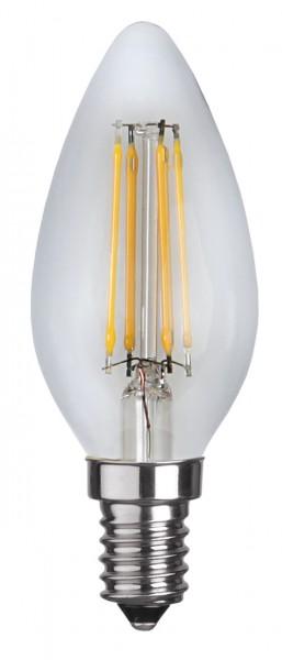 Filament LED, E14, 2700 K, 80 Ra, A+,dimmb