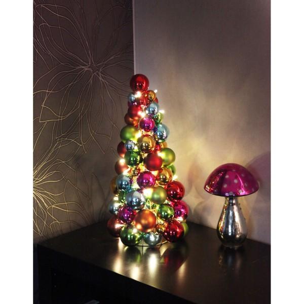 "LED-Kugelpyramide ""Ball Wreath"","