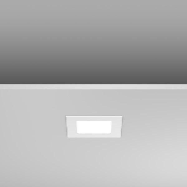 RZB LED-Deckeneinbaustrahler Toledo Flat Square 5W 4000K 110x110mm