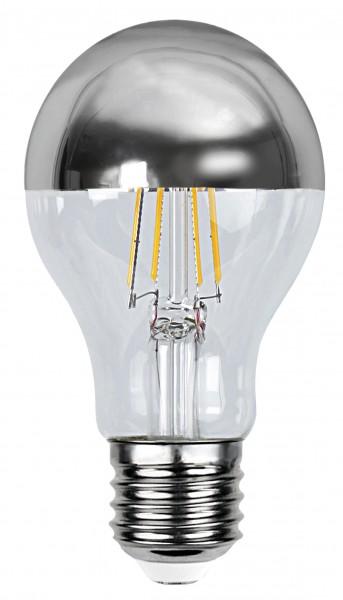Filament LED, E27, 2700 K, 80 Ra, A+, Silberkopf