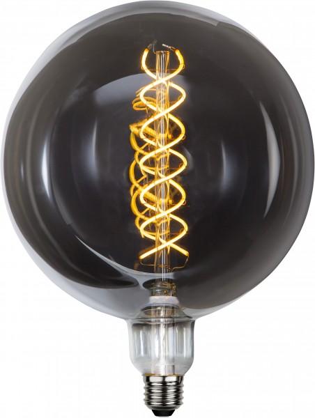 """Deco LED """"Industrial"""",Rauchglas E27, 2000K, B,dimm"""