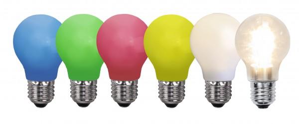 Decoration LED, B 22, opal, Polycarbonat