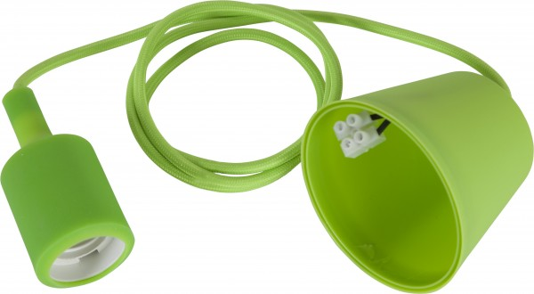 "Deckenleuchte ""Color"", E27-Fassung, grün"